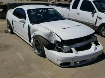 Salvage Ford Mustang SVT Cobra